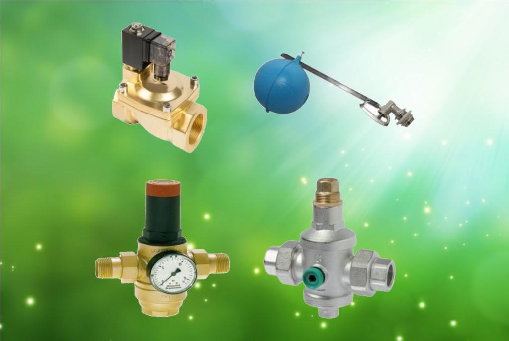 Клапана для водопровода