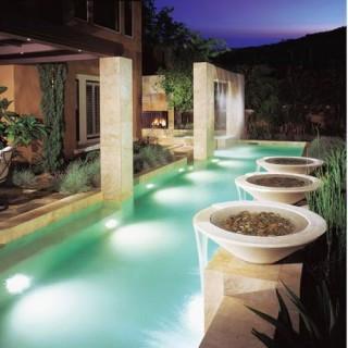 Насосы бассейн и фонтан